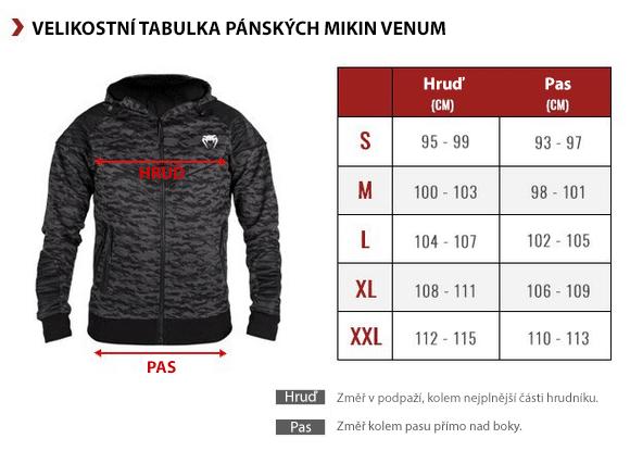 tabulka_velikosti_venum_mikiny_panske_venum