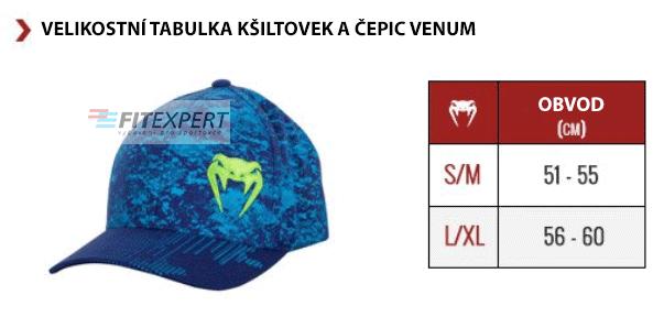 velikostni_tabulka_venum_ksiltovky_cepice